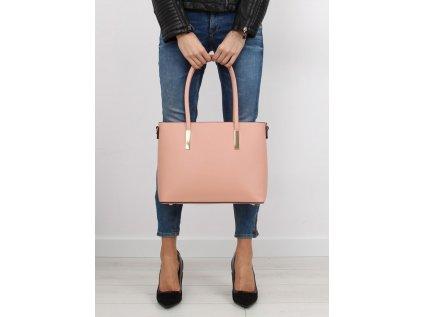 Inello denní kabelka MM-110494 růžová