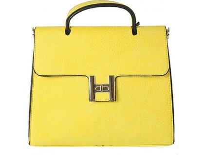 Diana & Co kabelka listonoška MM-102801 žlutá