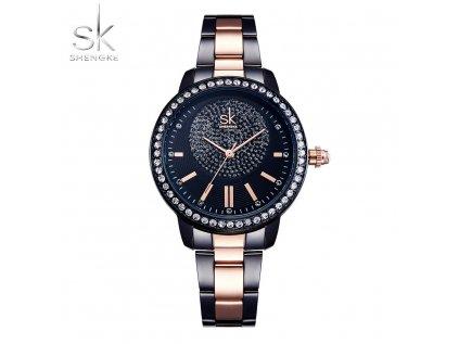 SK Shengke hodinky Luxury Black K0075_L02_BLACK