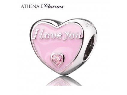 Athenaie přívěsek Vyznání lásky EN19