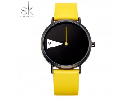 SK Shengke hodinky Reloj K0090_YELLOW